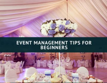 Event Management Tips for Beginner